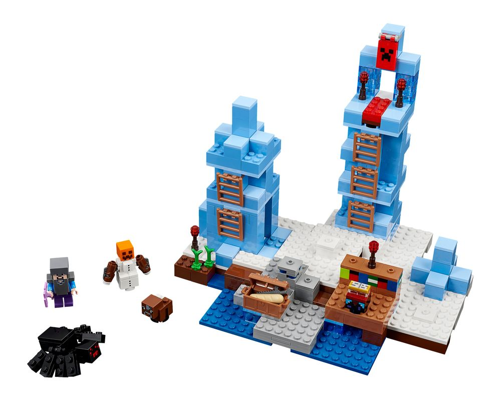 LEGO Set 21131-1 The Ice Spikes (LEGO - Model)