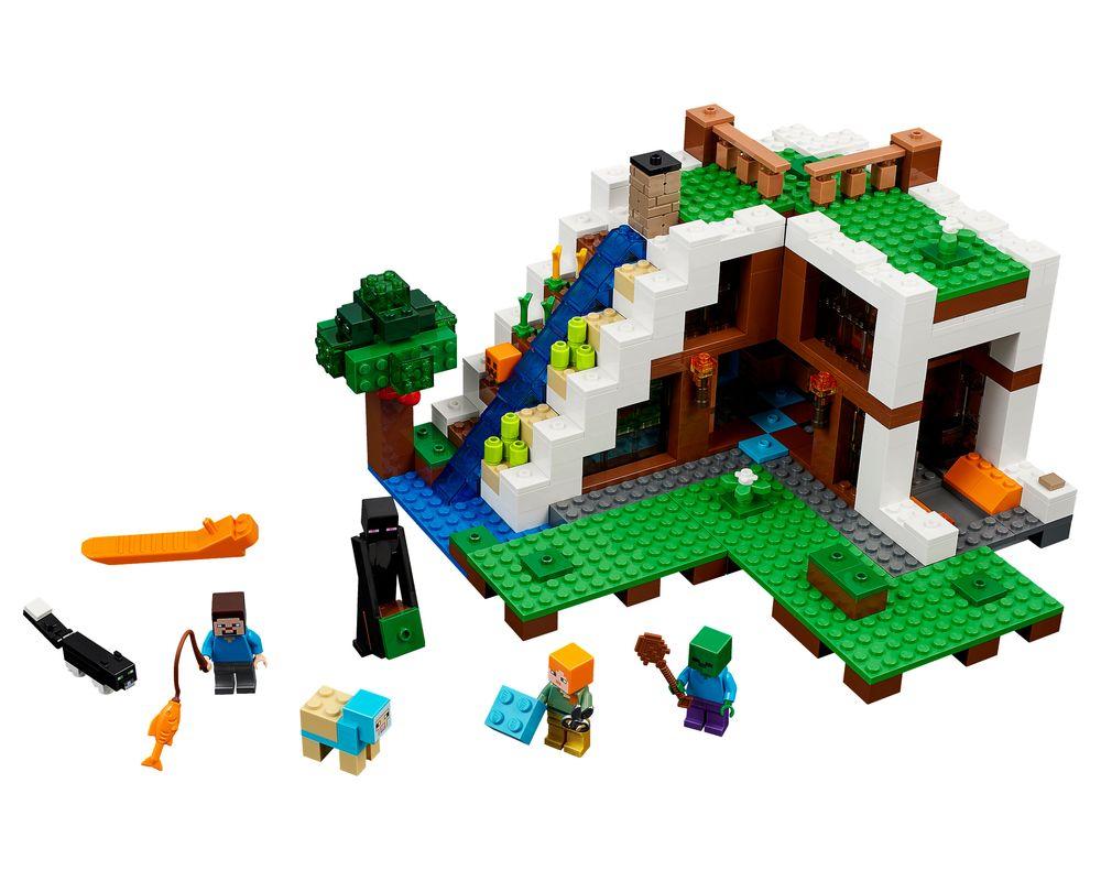 LEGO Set 21134-1 The Waterfall Base (LEGO - Model)