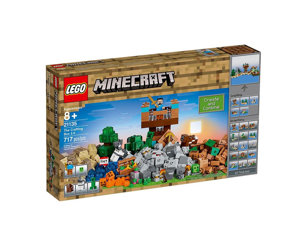 LEGO Set 21135-1 The Crafting Box 2.0