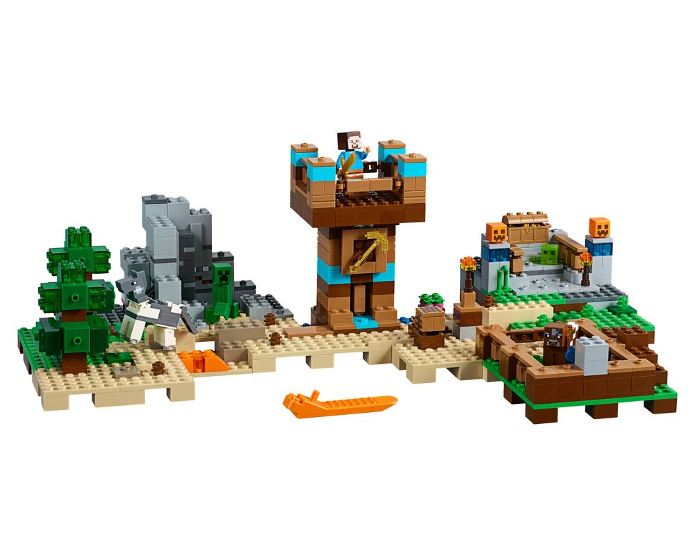 LEGO Set 21135-1 The Crafting Box 2.0 (LEGO - Model)