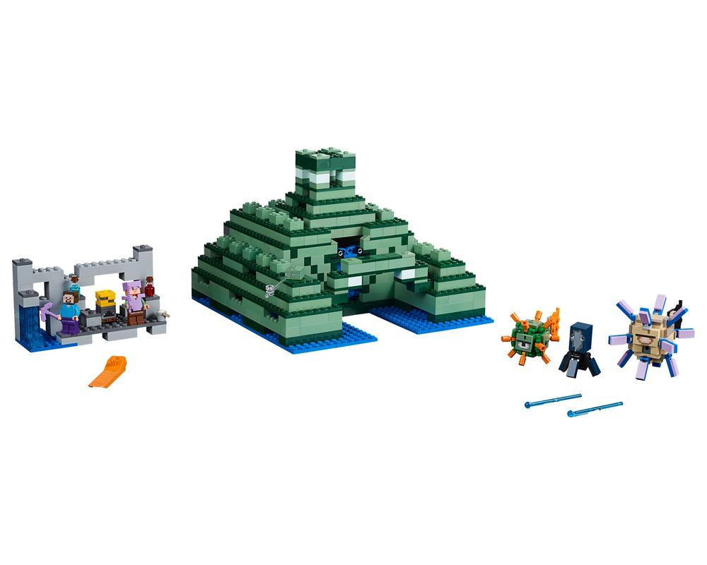 LEGO Set 21136-1 The Ocean Monument (LEGO - Model)
