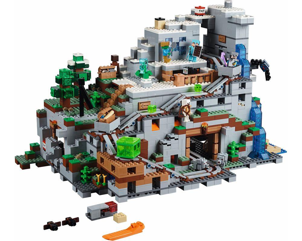 LEGO Set 21137-1 The Mountain Cave (LEGO - Model)