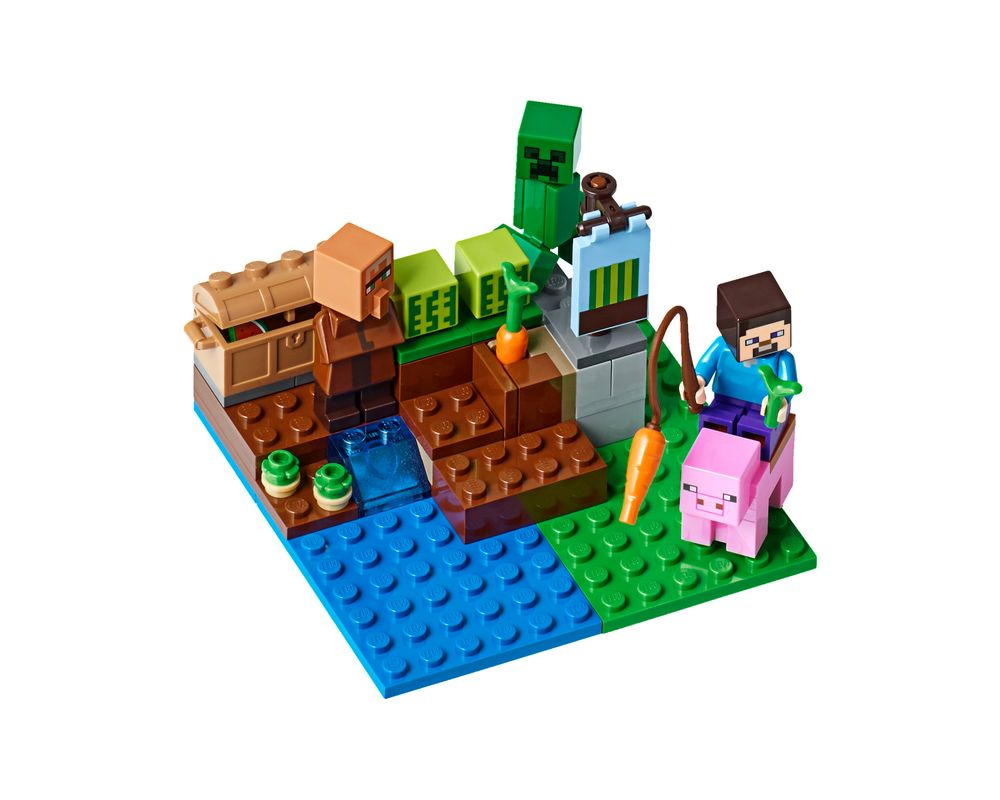 LEGO Set 21138-1 The Melon Farm (Model - A-Model)