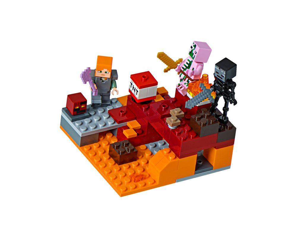 LEGO Set 21139-1 The Nether Fight (LEGO - Model)