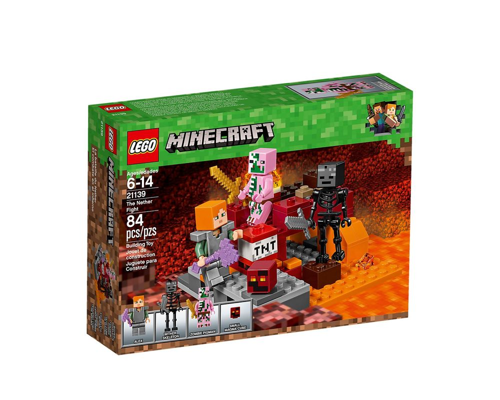 LEGO Set 21139-1 The Nether Fight