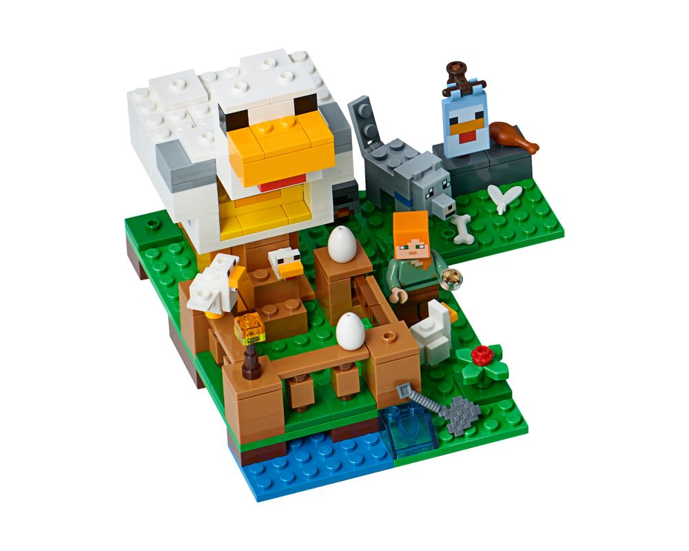 LEGO Set 21140-1 The Chicken Coop (LEGO - Model)