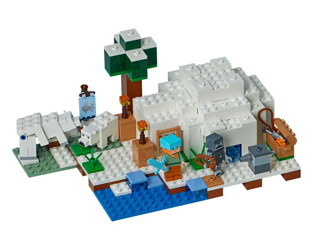 LEGO Set 21142-1 The Polar Igloo (Model - A-Model)