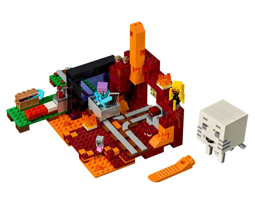LEGO Set 21143-1 The Nether Portal (Model - A-Model)