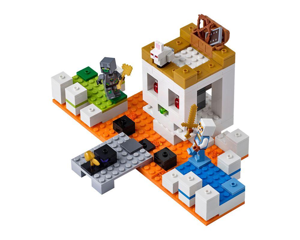 LEGO Set 21145-1 The Skull Arena (LEGO - Model)