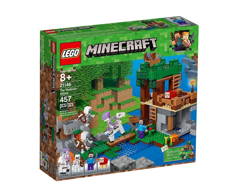 LEGO Set 21146-1 The Skeleton Attack