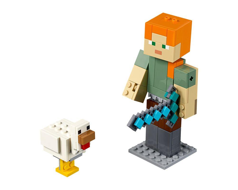 LEGO Set 21149-1 Minecraft Alex BigFig with Chicken (Model - A-Model)