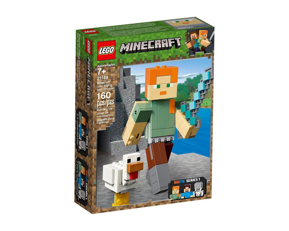 LEGO Set 21149-1 Minecraft Alex BigFig with Chicken