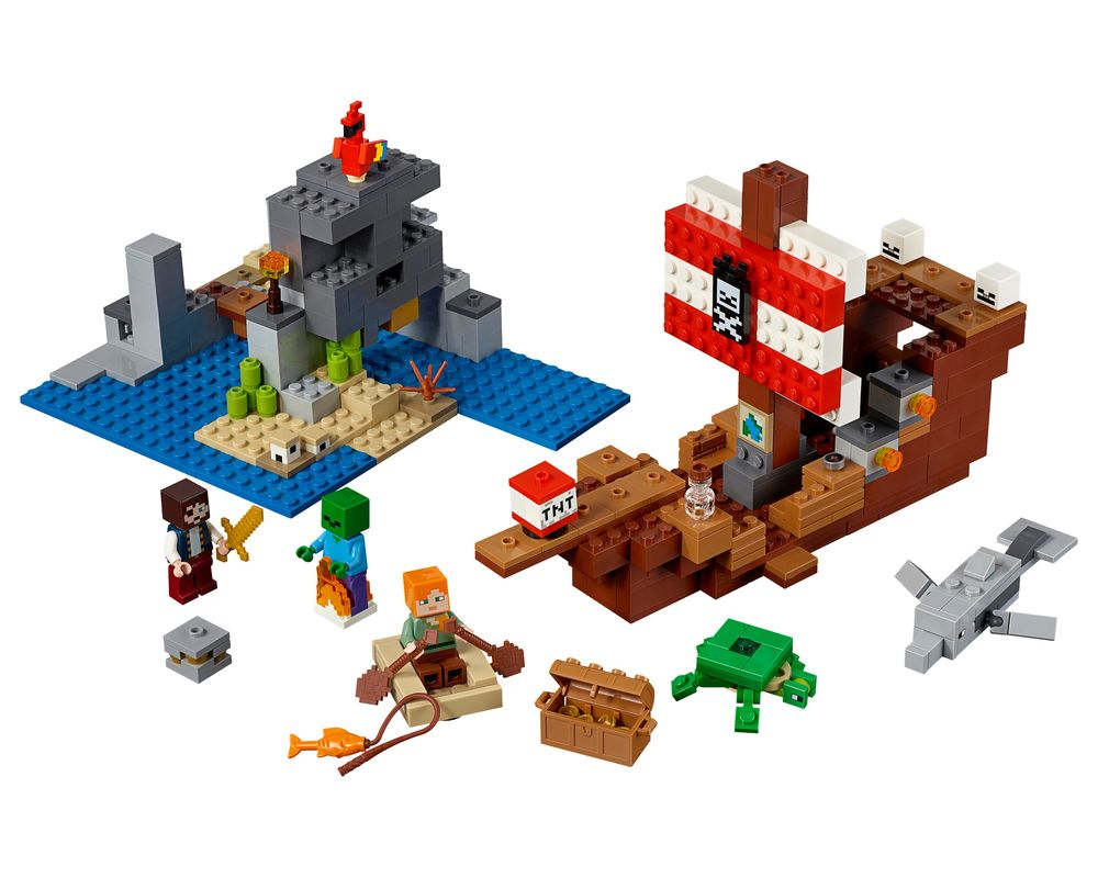 LEGO Set 21152-1 The Pirate Ship Adventure (Model - A-Model)