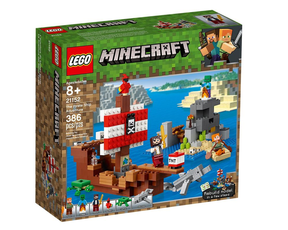 LEGO Set 21152-1 The Pirate Ship Adventure