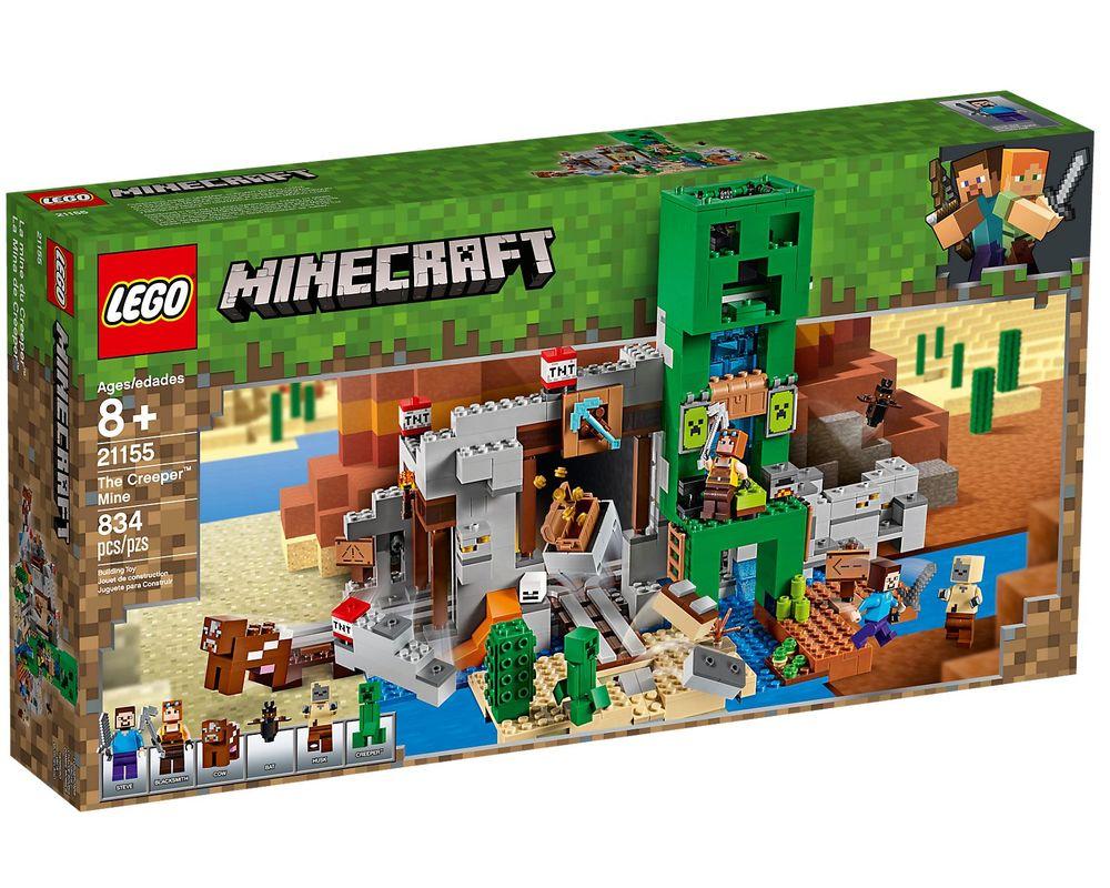 LEGO Set 21155-1 The Creeper Mine