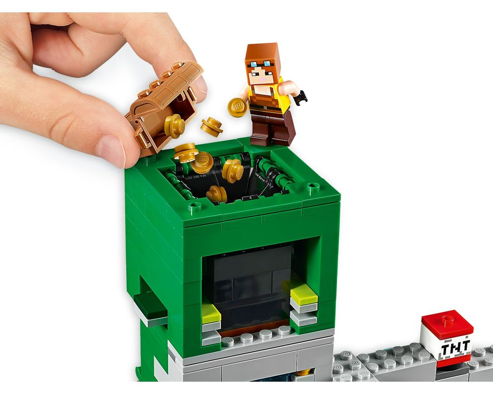 LEGO Set 21155-1 The Creeper Mine
