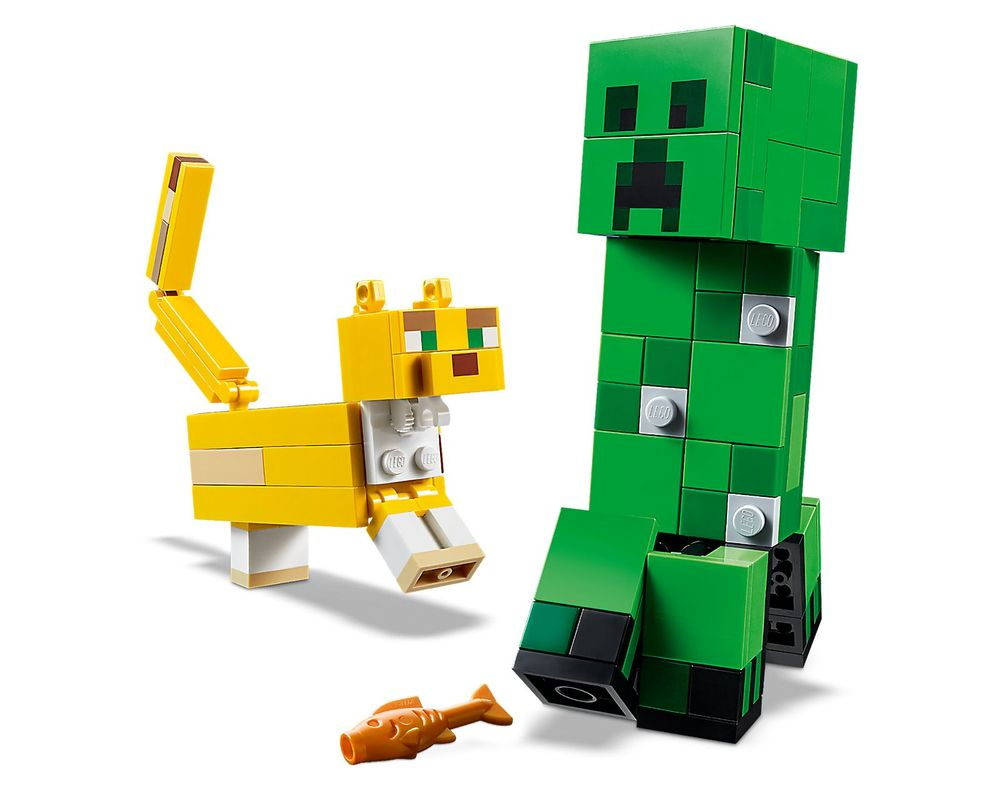 LEGO Set 21156-1 BigFig Creeper and Ocelot