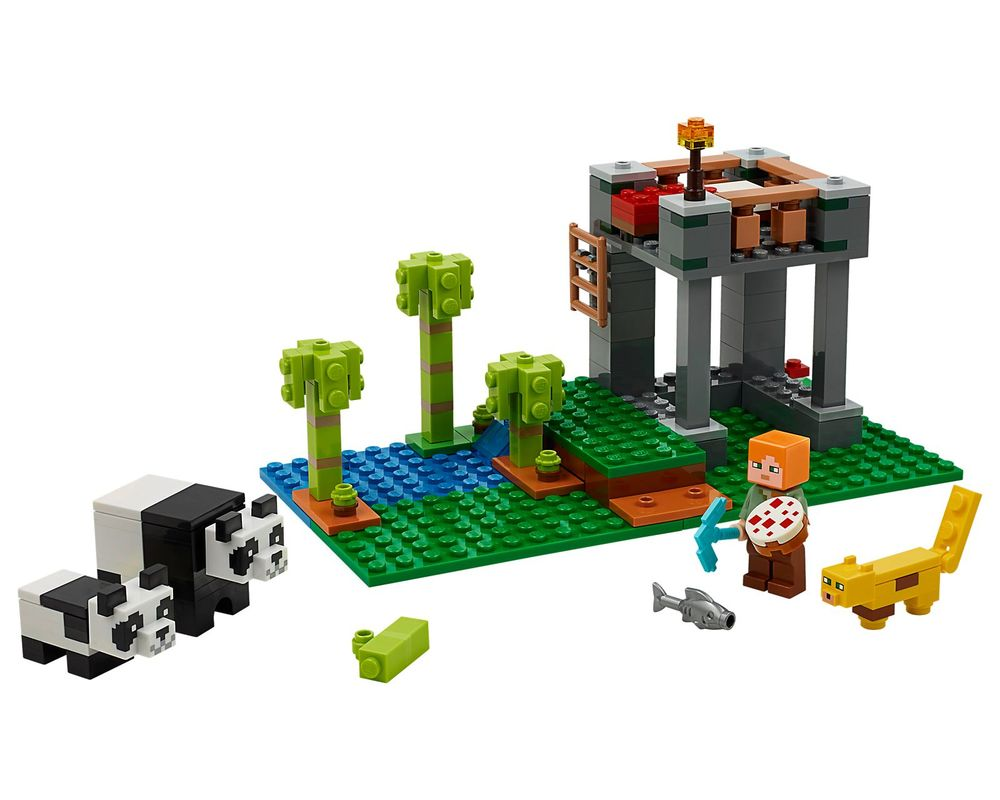 LEGO Set 21158-1 The Panda Nursery (LEGO - Model)