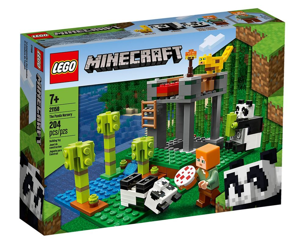 LEGO Set 21158-1 The Panda Nursery (LEGO - Box Front)