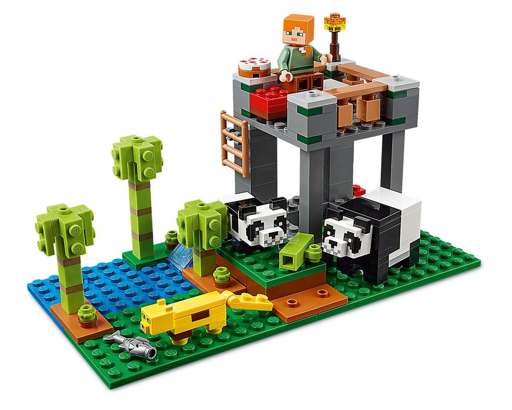 LEGO Set 21158-1 The Panda Nursery (Model - A-Model)