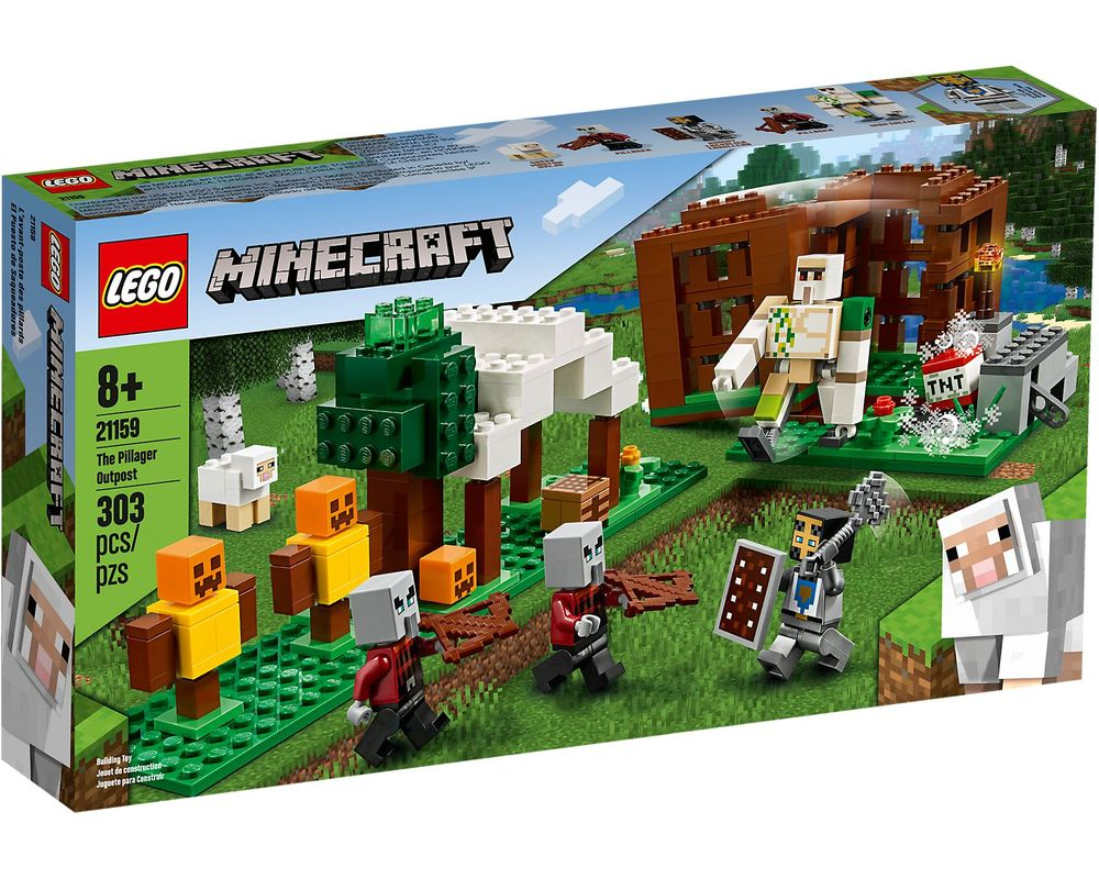 LEGO Set 21159-1 The Pillager Outpost (LEGO - Box Front)