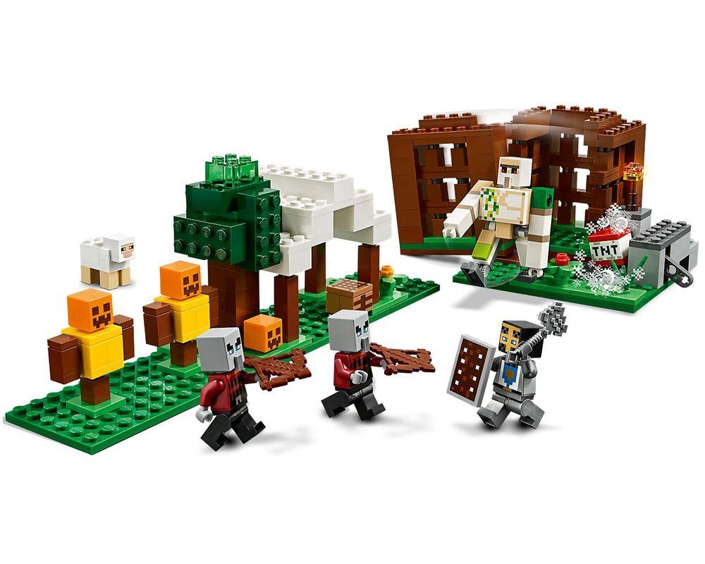 LEGO Set 21159-1 The Pillager Outpost (LEGO - Model)