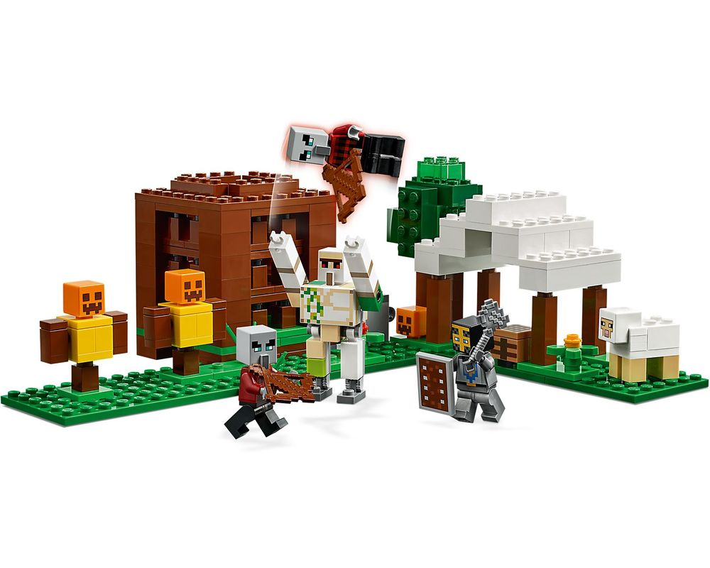 LEGO Set 21159-1 The Pillager Outpost (Model - A-Model)