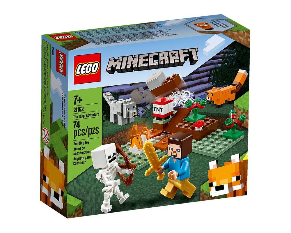 LEGO Set 21162-1 The Taiga Adventure (Box - Front)