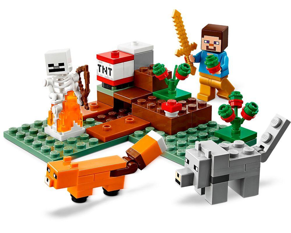 LEGO Set 21162-1 The Taiga Adventure (Model - A-Model)
