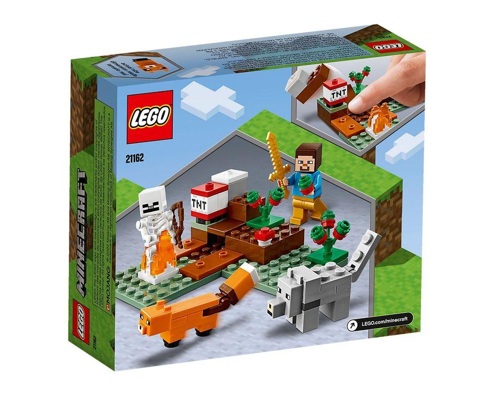 LEGO Set 21162-1 The Taiga Adventure (Box - Back)