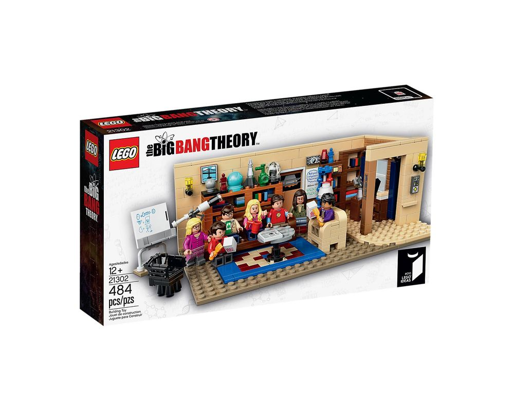 LEGO Set 21302-1 The Big Bang Theory