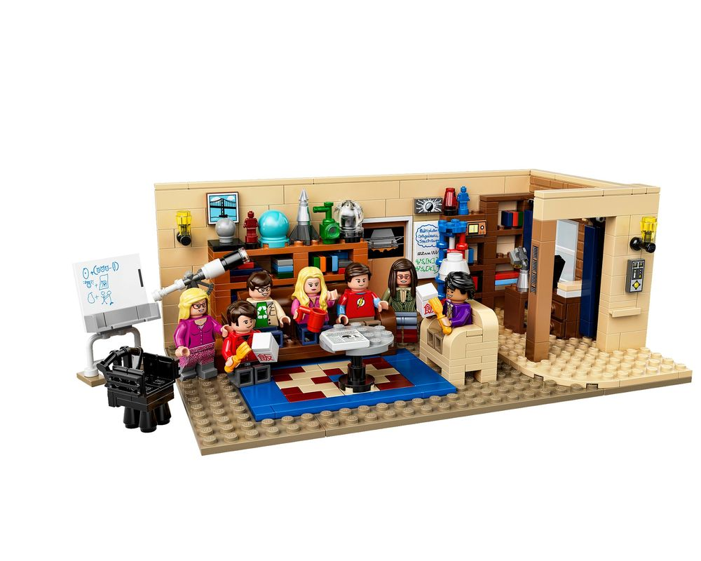 LEGO Set 21302-1 The Big Bang Theory (LEGO - Model)