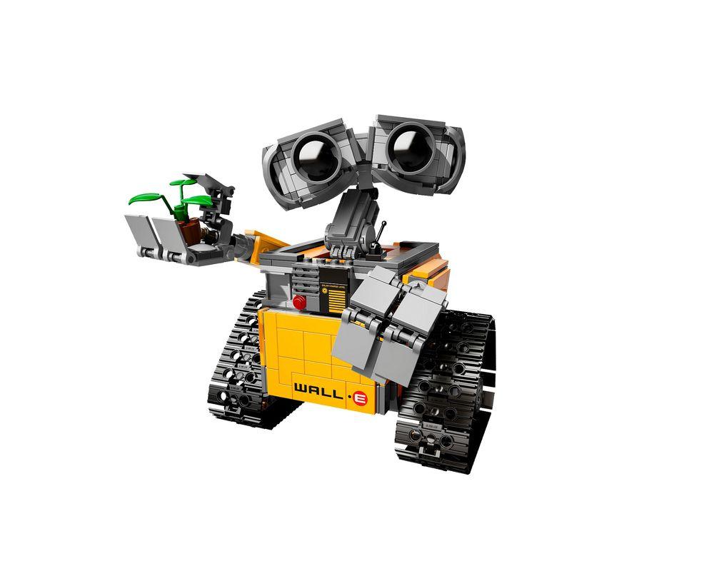 LEGO Set 21303-1 WALL•E [Original Version] (Model - A-Model)