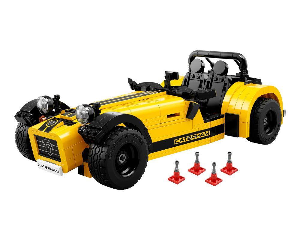 LEGO Set 21307-1 Caterham Seven 620R (Model - A-Model)