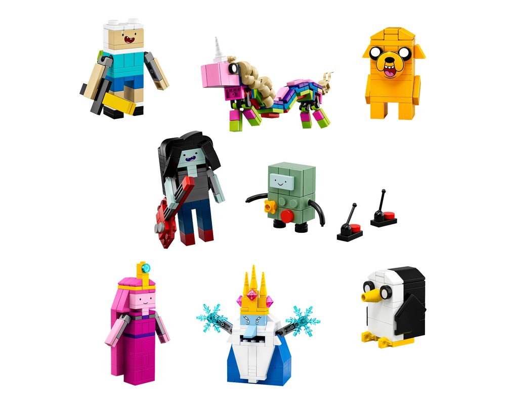 LEGO Set 21308-1 Adventure Time (LEGO - Model)