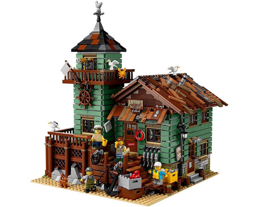 LEGO Set 21310-1 Old Fishing Store (LEGO - Model)