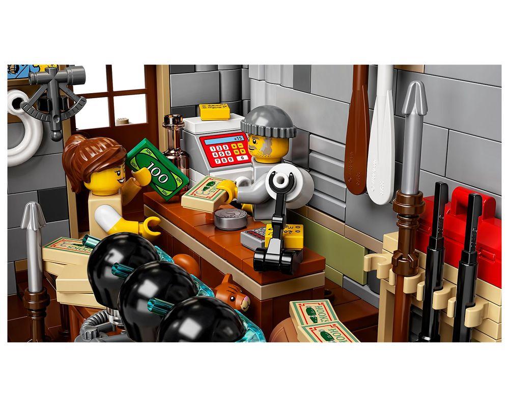 LEGO Set 21310-1 Old Fishing Store