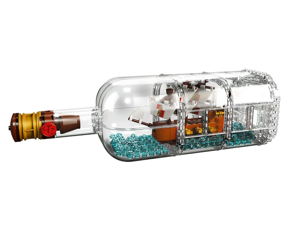 LEGO Set 21313-1 Ship in a Bottle