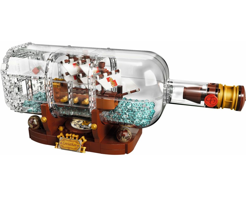 LEGO Set 21313-1 Ship in a Bottle (Model - A-Model)