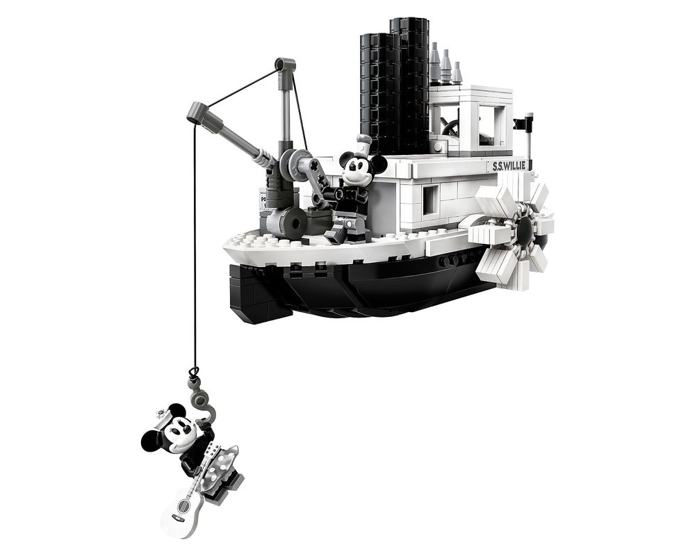 LEGO Set 21317-1 Steamboat Willie