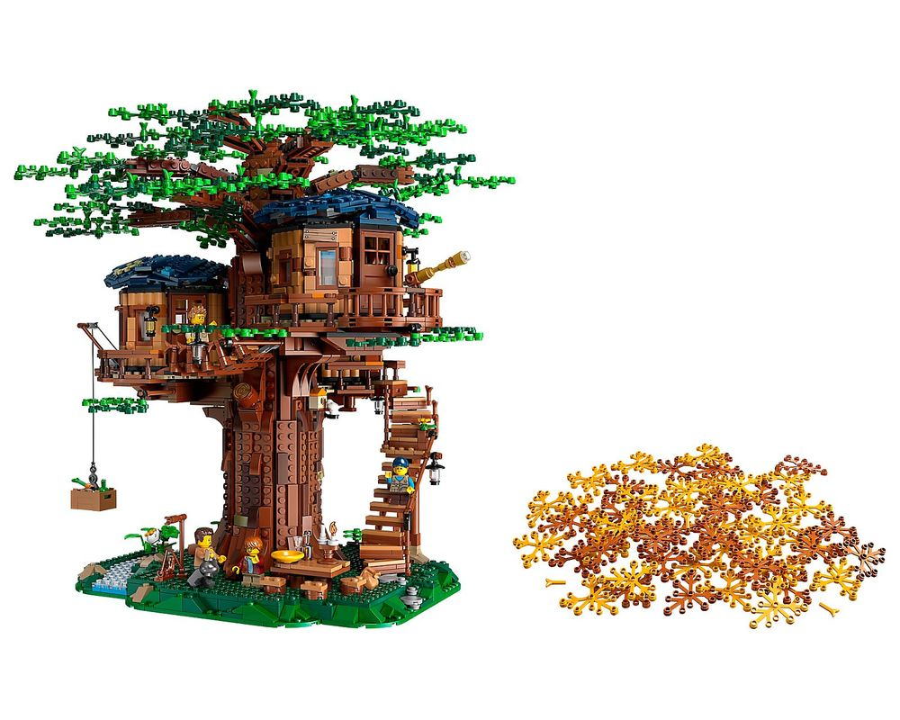LEGO Set 21318-1 Tree House (LEGO - Model)