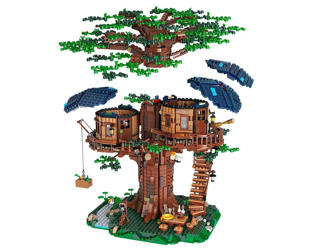 LEGO Set 21318-1 Tree House