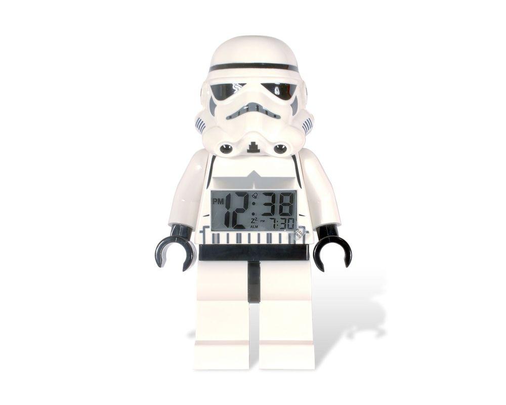LEGO Set 2856080-1 Storm Trooper Minifigure Clock