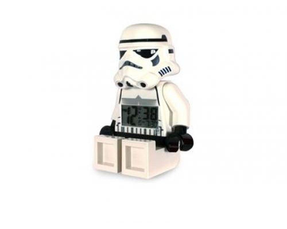 LEGO Set 2856080-1 Storm Trooper Minifigure Clock (LEGO - Model)