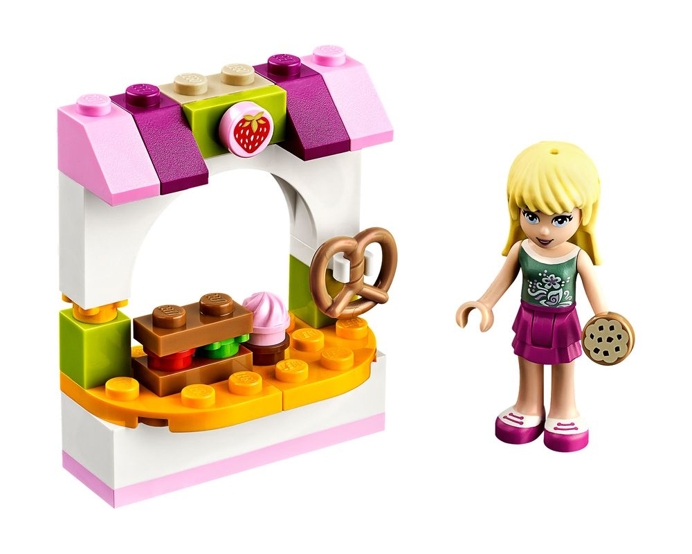 Lego Set 30113 1 Stephanie S Bakery Stand 2014 Friends