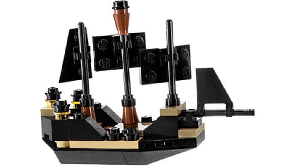 Lego Set 30130 1 Mini Black Pearl 2011 Pirates Of The