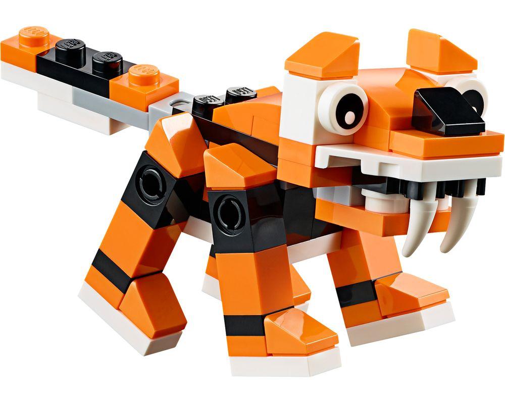 LEGO Set 30285-1 Tiger (Model - A-Model)