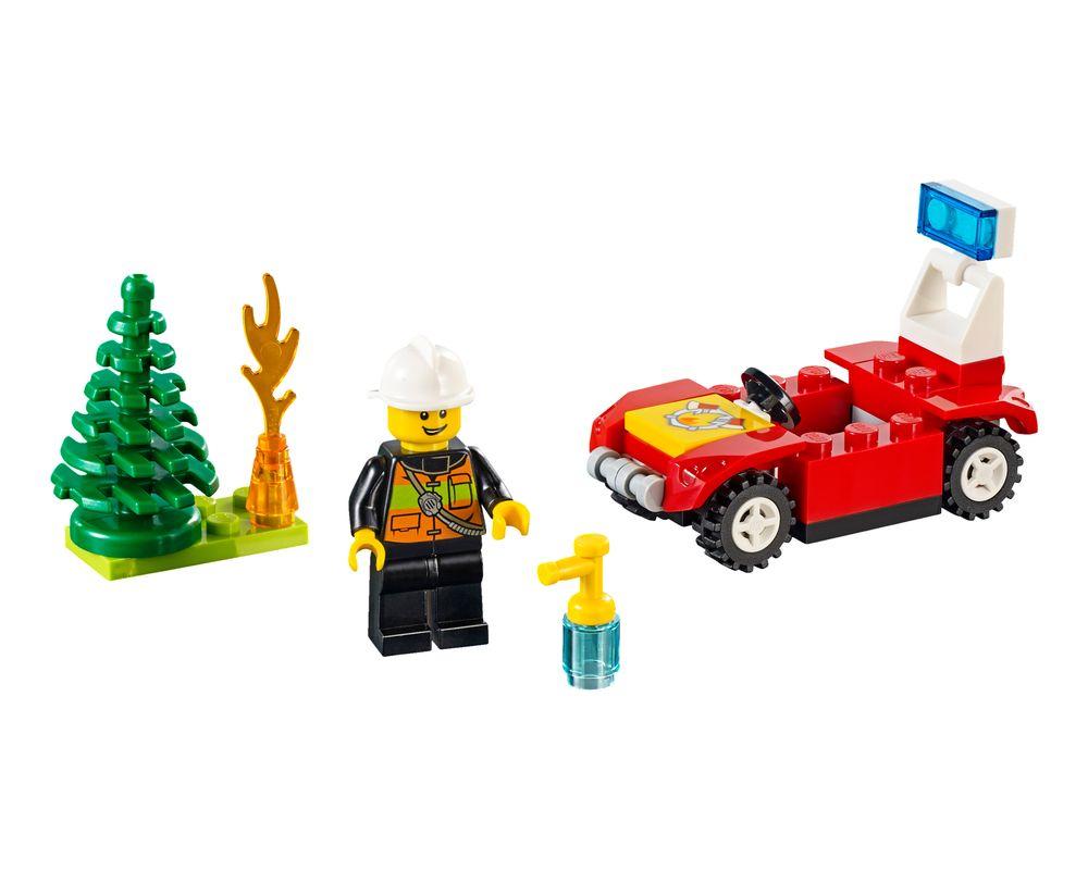 LEGO Set 30338-1 Fire Car (LEGO - Model)