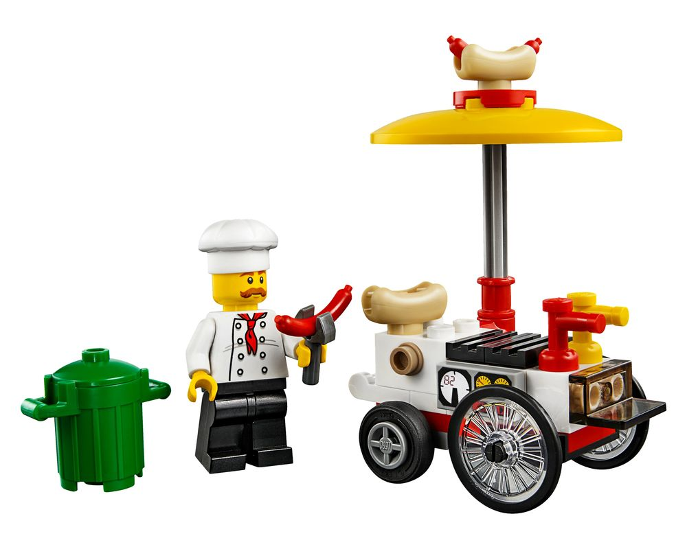 LEGO Set 30356-1 Hot Dog Stand (Model - A-Model)