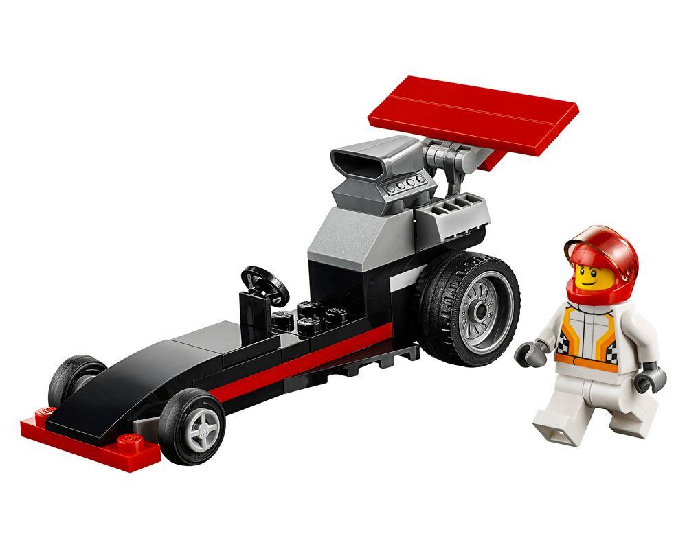 LEGO Set 30358-1 Dragster (Model - A-Model)